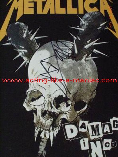 Damage Inc Tour 1989 Live In Belgium